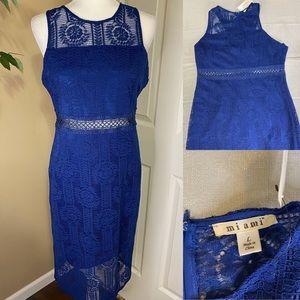 Miami blue lace dress size L